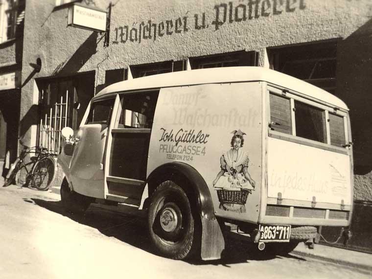 Unser Lieferwagen 1956