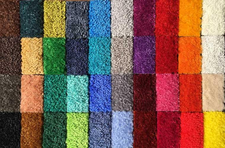 Farbmuster Matten