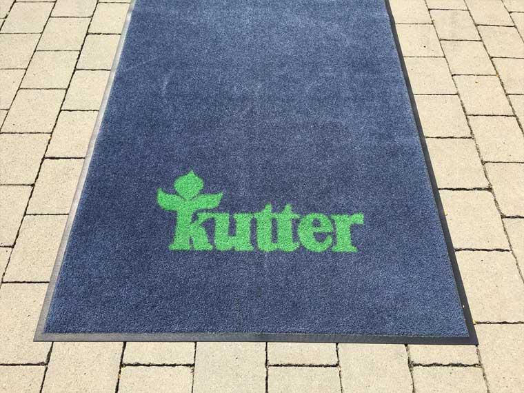 Logo-Matte Kutter
