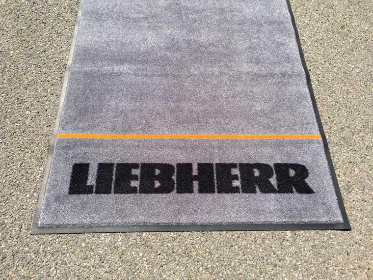 Logo-Matte Liebherr