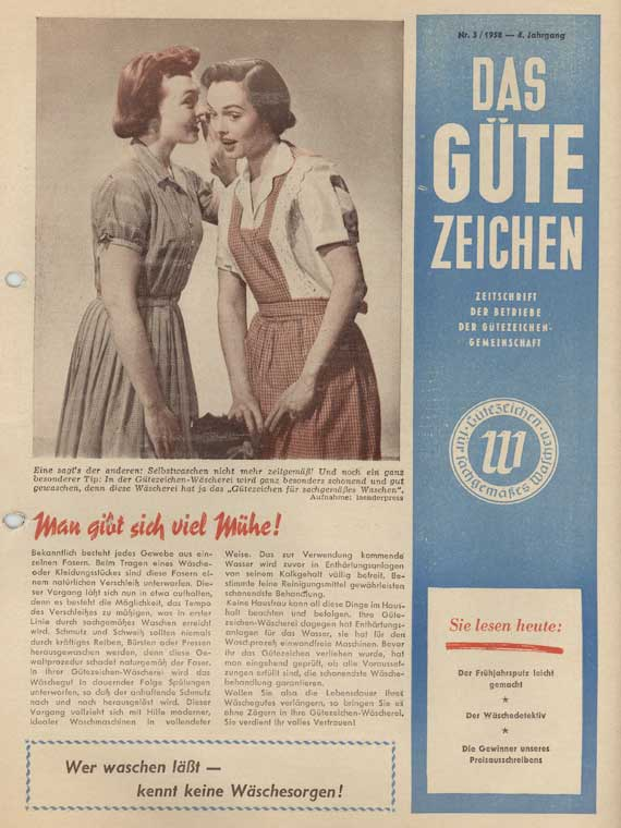 Historische Güthler-Werbung